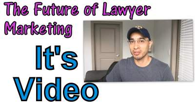 video and lawyer marketing