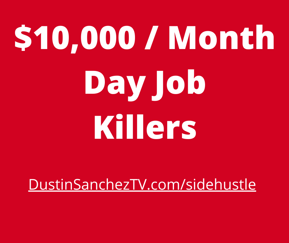 side hustle day job killers